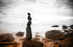 To remain in balance takes tiny adjustments moment to moment